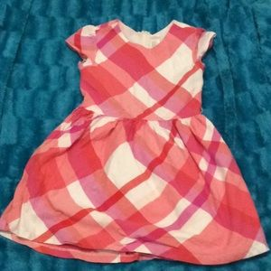 Cute pink and white Gymboree dress